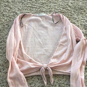 H&M girl's ballet wrap